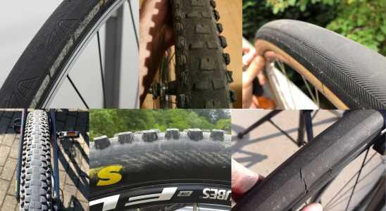 pneus de bicicleta