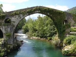Medieval Bridge at Cangas