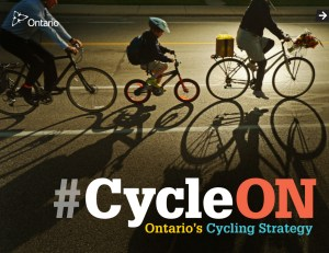 #CycleON Ont Cycling Strategy