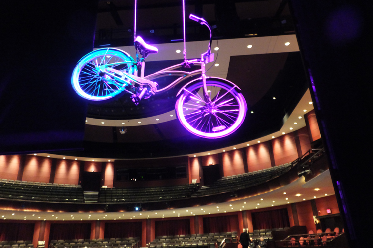 Cycling at Rose Theatre