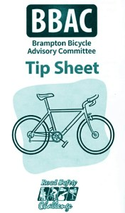 BikeBrampton Cycling Safety Tip Sheet_300