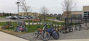 2015 03 Brisdale PS bike racks_300