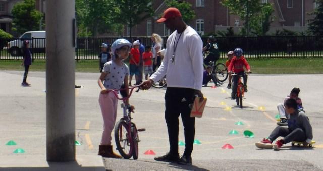 Bike to School Week rodeo