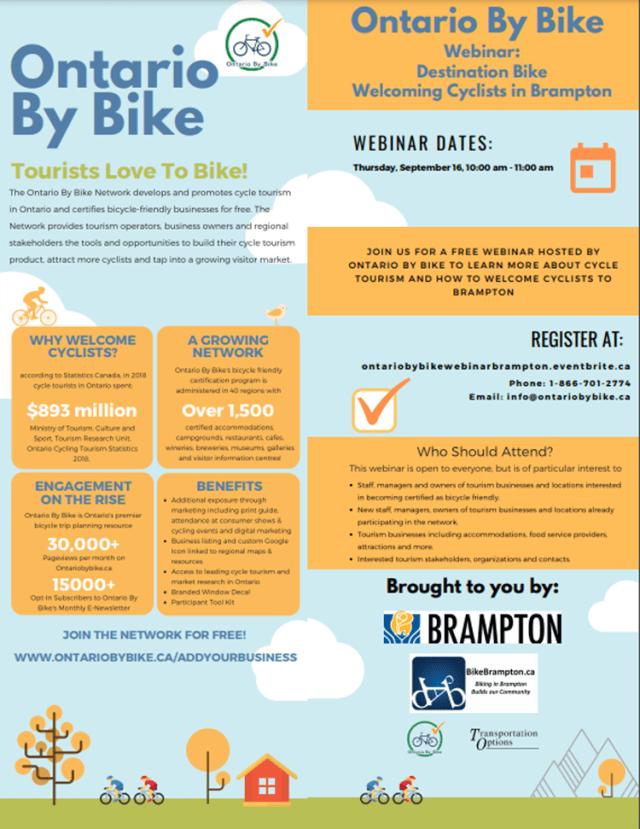 Ontario by Bike Webinar