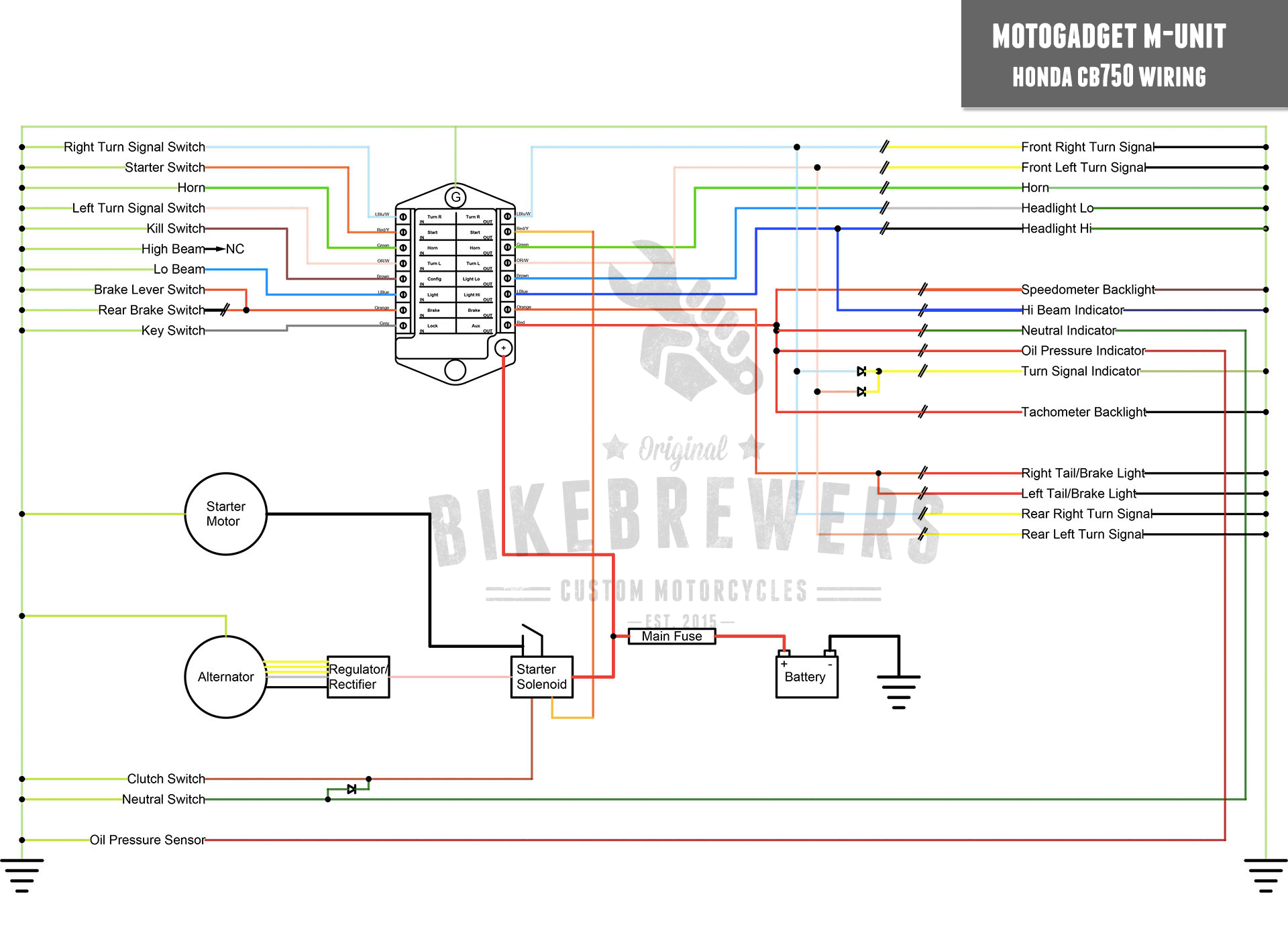 Cb550 Wiring Diagram Simplified in addition 1976 Cb 750 Wiring Diagram additionally Honda Cb650 Cafe Racer together with 1971 Kawasaki 90cc Wiring Diagram as well Cb750k. on 1974 honda cb750 wiring diagram