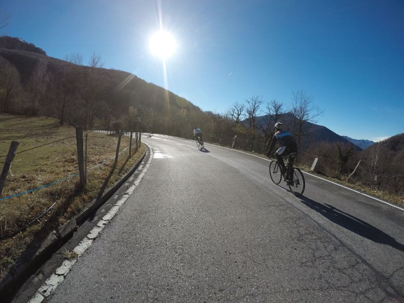 Roadbiking in Ticino