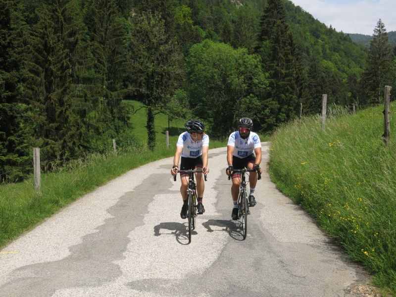 on the road with Summits of Switzerland