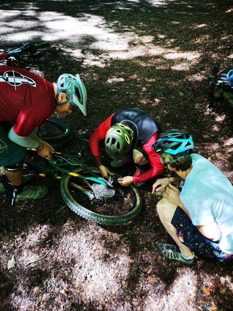 Bikebuebe Workshop Pannenhilfe
