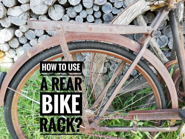 how to use a rear bike rack a guide