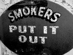 smokers sign