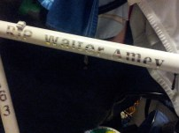 Top tube of Walters' GB