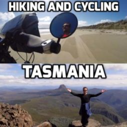 cycling and hiking tasmania
