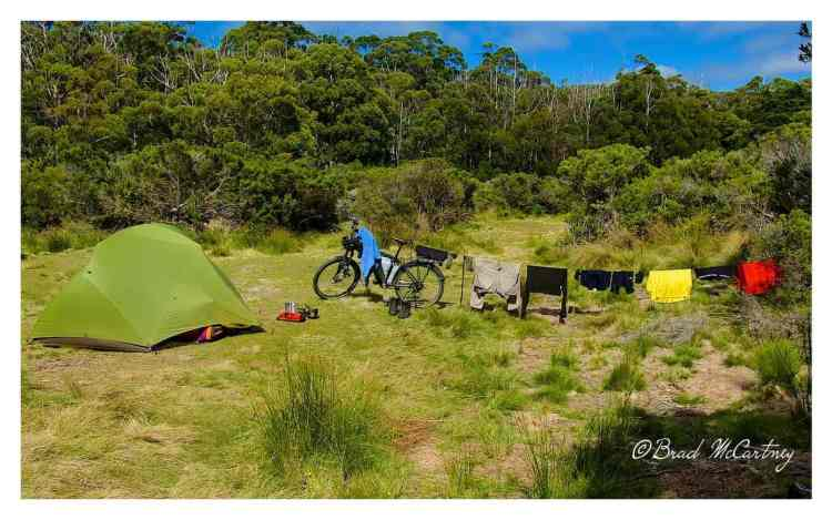 Campsite at Cockle Creek