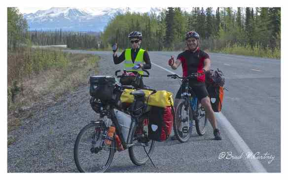 Three thumbs up for cycling the Richardson Hwy, from Valdez to Paxson