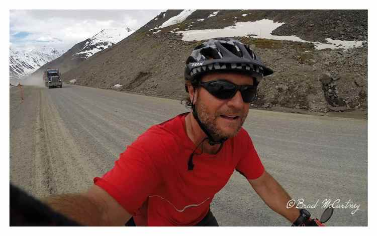 cycling Atigan Pass