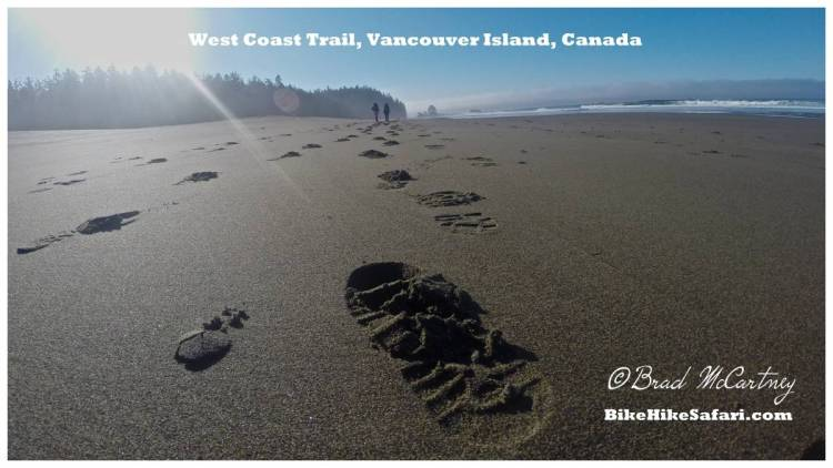 The West Coast Trail, Vancouver Island, Canada