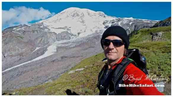 Mt Rainier and ? Glacier