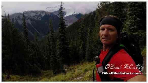 Mt Rainier from the Wonderland Trail near Sunrise