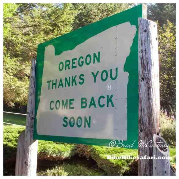 Thank You Oregon
