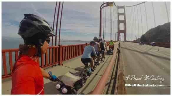 The bike train