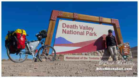 Entrance to Death Valley NP