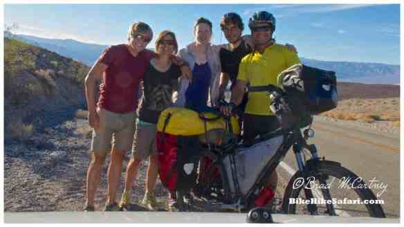 Robert, Sabrina, Ria, Oliver and myself in Death Valley NP
