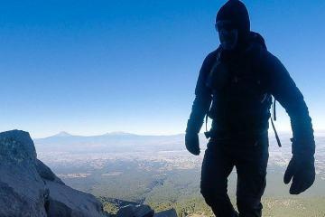 Climbing La malinche