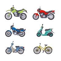 バイク保険の基礎用語 用途・車種