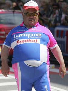 Image result for overweight cyclist in lycra