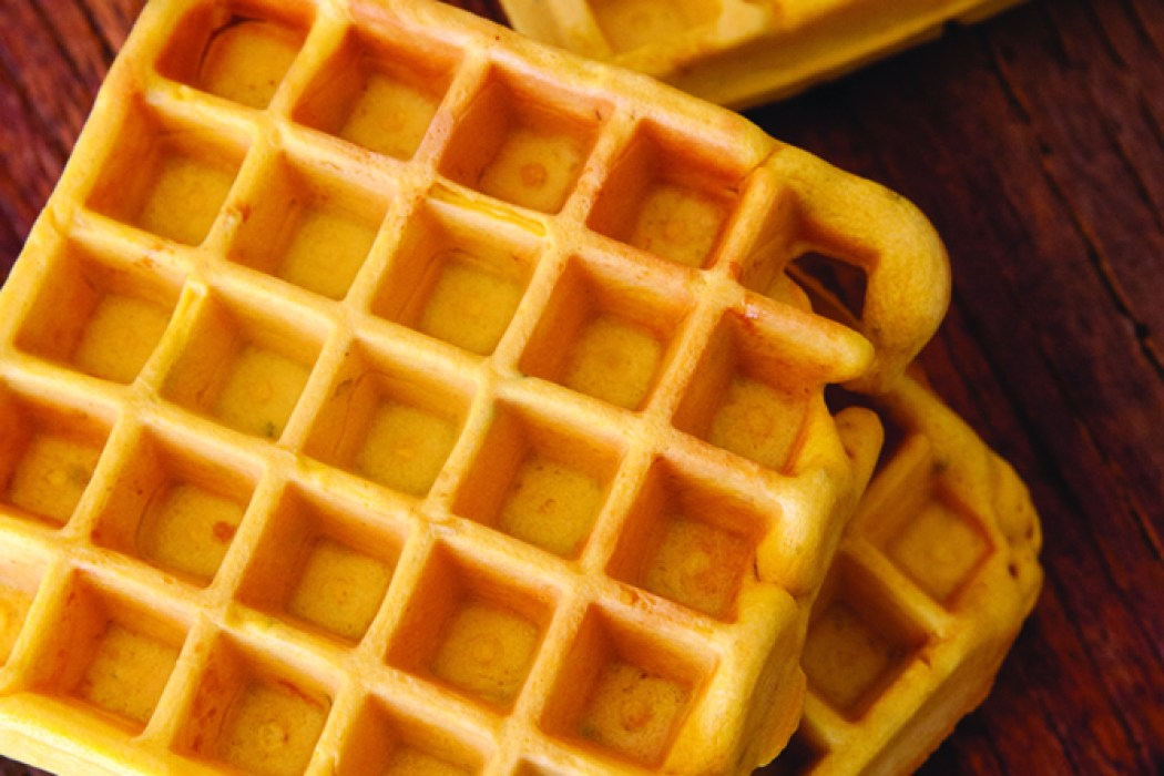 Carrot Waffles Recipe