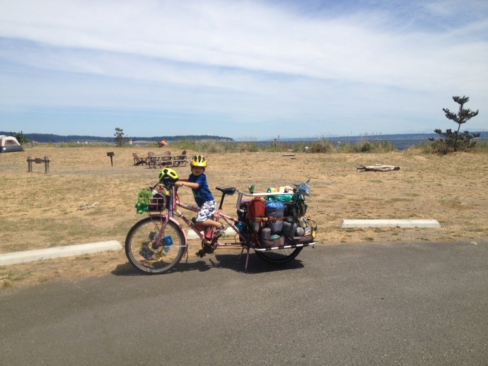 Cargo Bike, kids on bikes, seattle