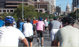 Cycling in Austin from Citizens for Transportation Choice website.