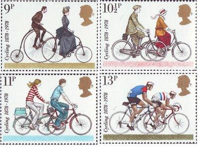 The British 1978 cycling set.