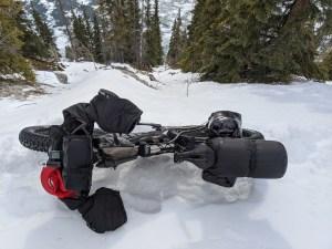 Prototype testing in winter alpine conditions