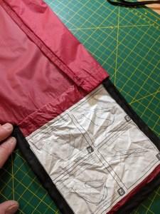 MSR Carbon Reflex 1 tent