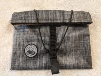 Front view of XL StraddleBag
