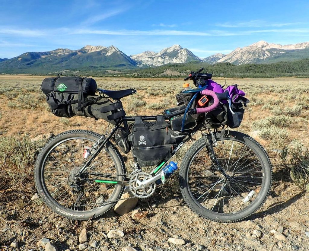 tips for bikepacking and bike touring beginners