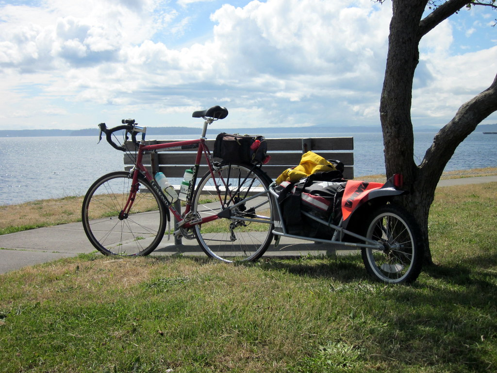 Trailers for Bike Touring Bikepacking