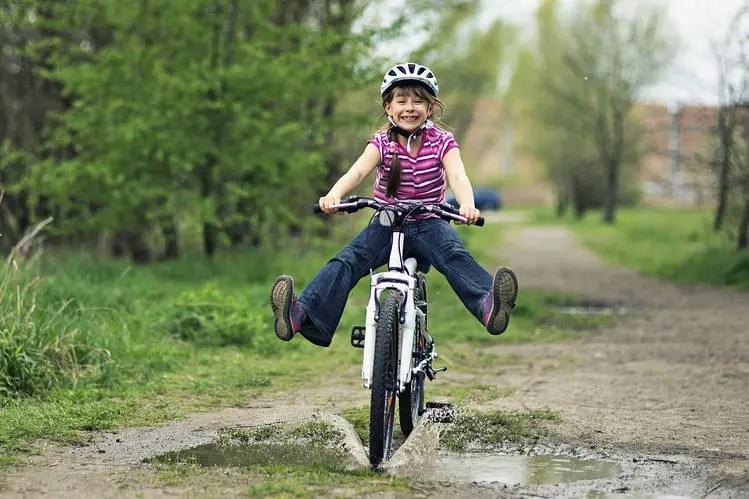 bikepacking with children