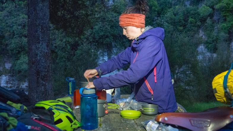Late Dinner in Ruatiti Domain
