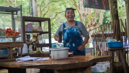 The Best Chef from Chiang Dao Cave Car Park