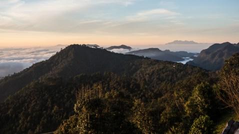 Východ slunce na Doi Ang Khang poprvé