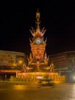 Hodinová věž v Chiang Rai