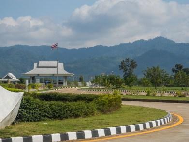 Hraniční přechod v Chiang Khong