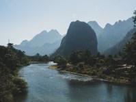 Úchvatné výhledy do Laoské krajiny