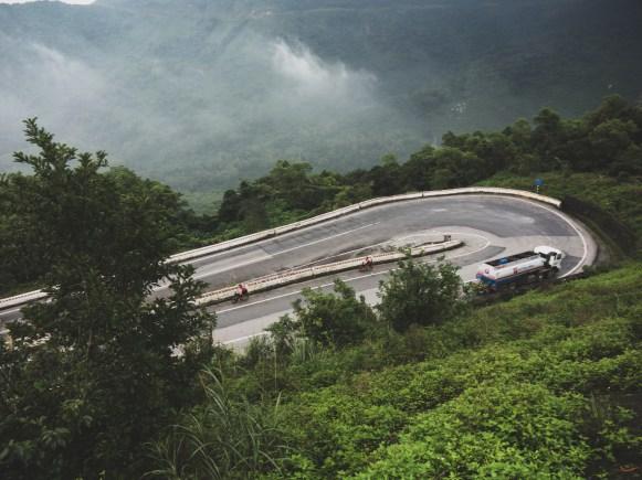 Hai Van Pass Switchback