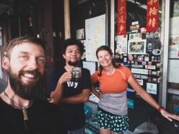 Opatřujeme pár nových bajkových dílů v Bok Bok Bike Thailand
