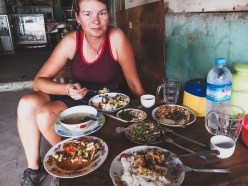 First Meal in Myanmar
