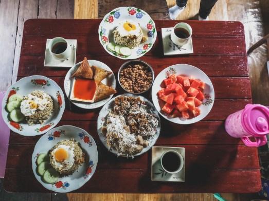Breakfast at Su Su's place, Kawkareik