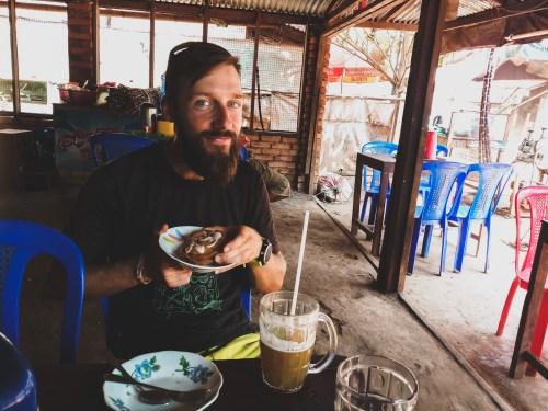 Jakub likes Burmese food